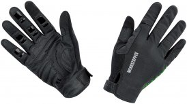 Gore Bike Wear Power Trail WS Long Gloves Schwarz XXL