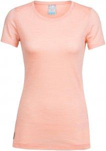 Icebreaker Damen Sphere Low Crewe T-Shirt Orange M