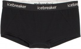 Icebreaker Damen Sprite Hot Pants Schwarz L