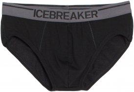 Icebreaker Herren Anatomica Briefs Schwarz XL