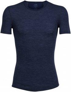 Icebreaker Herren Anatomica Rib SS T-Shirt Blau S