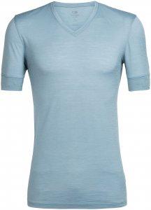 Icebreaker Herren City Lite V T-Shirt Blau M