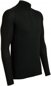 Icebreaker Herren Everyday LS Half Zip Schwarz XL