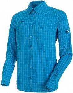 Mammut Herren Lenni Longsleeve Hemd Blau S