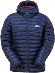 Mountain Equipment Damen Arete Hooded Jacke Blau L