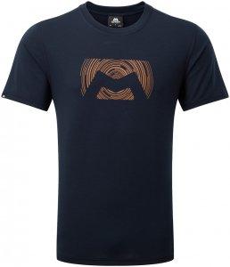 Mountain Equipment Herren Groundup Logo T-Shirt Schwarz S