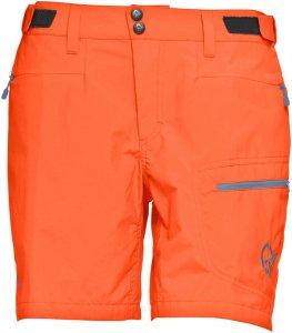 Norrona Damen Bitihorn Lightweight Shorts Orange M