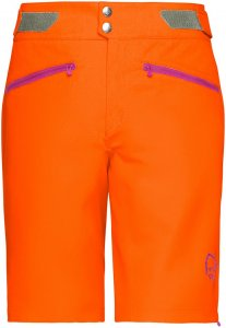 Norrona Damen Fjora Flex 1 Lightweight Shorts Orange XS