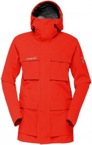 Norrona Damen Svalbard GTX Jacke Rot L