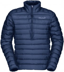 Norrona Herren Bitihorn Superlight Down 900 Sweater Blau M