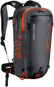 Ortovox Ascent 22 Avabag Schwarz