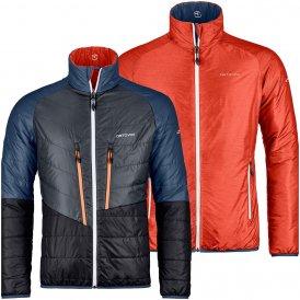 Ortovox Herren Piz Boval Jacke Orange XL