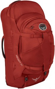 Osprey Herren Farpoint 55 Reiserucksack Rot
