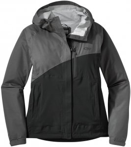 Outdoor Research Damen Panorama Point Jacke Grau M