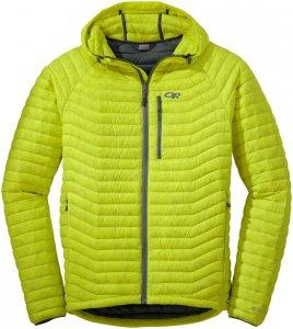 Outdoor Research Herren Verismo Hooded Down Jacket Gelb S