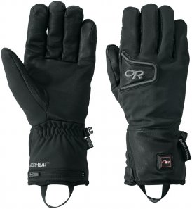 Outdoor Research Stormtracker Heated Handschuh Schwarz L