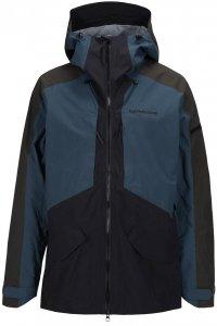 Peak Performance Herren Teton Jacke Blau L