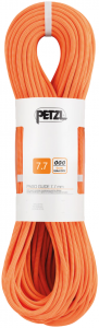 Petzl Paso Guide 7.7 Halbseil Orange