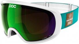 POC Fovea Mirror Skibrille Weiß