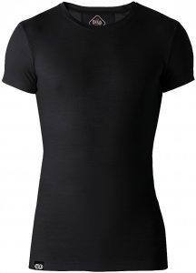Rewoolution Herren Adara Mesh T-Shirt Schwarz M