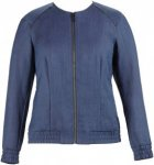 Alchemy Equipment Damen Unlined Linen Blend Bomber Jacke Blau L