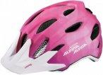 Alpina Kinder Carapax JR. Flash Fahrradhelm Pink