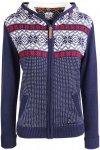 Alprausch Damen Annekäthi Knitted Jacke (Größe L, Blau) | Fleecejacken > Dame