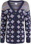 Alprausch Damen Cocolina Knitted Cardigan (Größe L, Blau) | Strickjacken > Dam