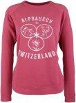 Alprausch Damen Studi-Robin Sweatshirt (Größe XS, Pink) | Pullover > Damen