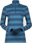 Bergans Damen Akeleie 1/2 Zip Shirt Blau S