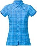 Bergans Damen Langli S/S Bluse Blau M