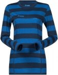 Bergans Damen Soleie Longsleeve (Größe L, Blau) | Langarm Unterhemden > Damen