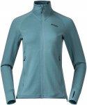 Bergans Damen Ulstein Wool Jacke (Größe L, Blau)