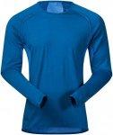 Bergans Herren Barlind Shirt Blau XXL