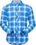 Bergans Herren Jondal LS Hemd Blau XL