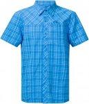 Bergans Herren Langli S/S Hemd Blau XL