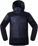 Bergans Herren Osen Down/Wool Jacke (Größe XL, Blau) | Isolationsjacken > Herr