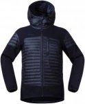Bergans Herren Osen Down/Wool Jacke Blau XL