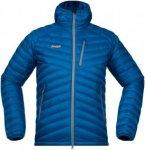 Bergans Herren Slingsbytind Down Jacke Blau XL