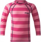 Bergans Kinder Fjellrapp Shirt Pink 104