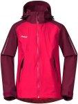 Bergans Kinder Girls Sjoa 2L Jacke (Größe 152, Pink) | Hardshelljacken & Regen