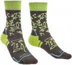 Bridgedale Damen Hike MW Socken (Größe 36, 35, 37, Braun)