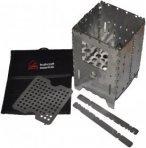 Bushcraft Essentials Bushbox XL Profi Set Hobokocher (Grau)