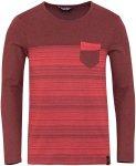 Chillaz Herren Street Stripes Retro Longsleeve (Größe M, Rot)