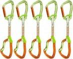 Climbing Technology Nimble EVO DY 12cm 5er Pack Express Set Orange