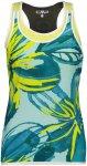 CMP Damen Flower Tanktop (Größe XL, Blau) | Laufshirts > Damen