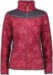CMP Damen Printed Fleece Jacke (Größe S, Pink)