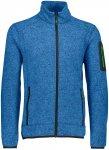 CMP Herren Light Knitted Jacke (Größe XXL, Blau) | Fleecejacken > Herren