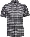 CMP Herren Stretch Hemd (Größe L, Grau) | Hemden > Herren
