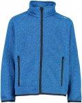 CMP Kinder Knit Tech Jacke (Größe 116, Blau)